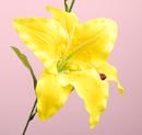 造花 カサブランカ 黄色