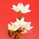 造花 キキョウ 白