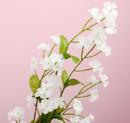 造花 ワスレナグサ 白