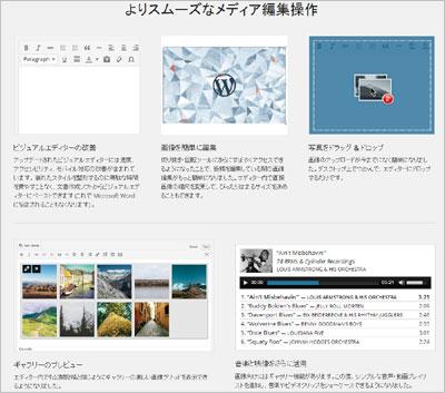WordPress 3.9 日本語版がリリースされました